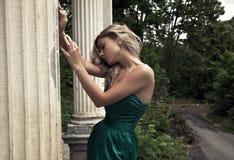 блондинка красотки Стоковая Фотография
