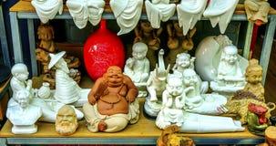 Блошинный Пекин Китай Buddhas Panjuan китайской реплики керамический стоковая фотография rf