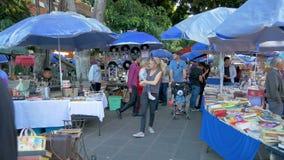 Блошиный рынок в мексиканском городе Пуэбла видеоматериал