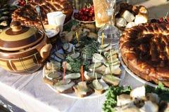 Блюда кухни Кубани Стоковое Изображение RF