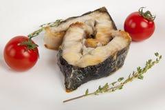 Блюдо зажаренной стерляжины Стоковое Фото