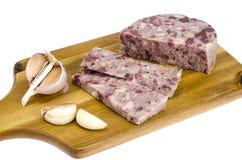 Блюдо кабанины немецкой кухни стоковое фото