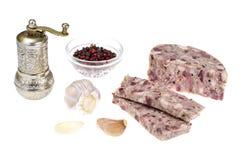 Блюдо кабанины немецкой кухни стоковая фотография rf