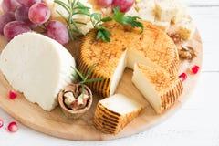 Блюдо сыров стоковое изображение