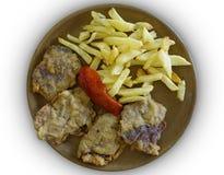 Блюдо chitterlings Стоковое Фото