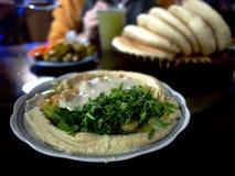 Блюдо Hummus стоковое фото