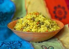 Блюдо khicri Khichdi традиционное индийское Стоковое Изображение