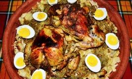 Блюдо RFISSA морокканское стоковые фотографии rf
