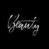 бобра Высушите фразу каллиграфии щетки мотивационную Рукописная литерность в стиле boho для печати и плакатов typography бесплатная иллюстрация