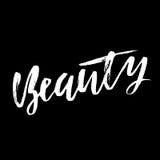 бобра Высушите фразу каллиграфии щетки мотивационную Рукописная литерность в стиле boho для печати и плакатов typography иллюстрация штока