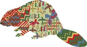 Бобр в этнической картине индейцев