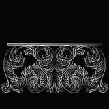 Богатая барочная таблица Стоковые Изображения RF