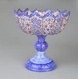 Богато украшенная ваза металла Стоковая Фотография RF