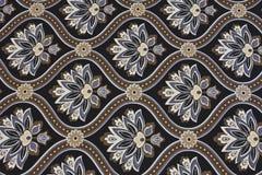 Богато украшенная предпосылка ткани Стоковые Изображения
