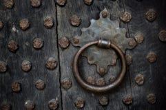 Богато украшенная ручка двери Стоковая Фотография