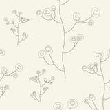 Богато украшенная флористическая безшовная текстура, бесконечные wi картины иллюстрация вектора