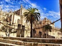 Богато украшенное испанское здание Стоковые Изображения RF