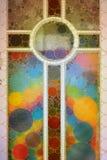 Богато украшенный абстрактный крест мозаики бесплатная иллюстрация
