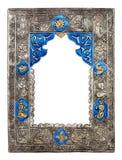 Богато украшенный арабськая рамка Стоковая Фотография