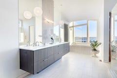 Роскошная ванная комната Стоковые Фото