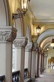 Богато украшенный колонки Стоковое Фото