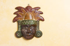 богато украшенный маски myan стоковое фото rf