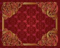Богато украшенный рамка Стоковое Фото