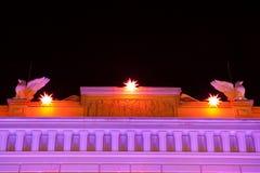богато украшенный структура крыши Стоковые Фотографии RF