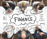 Богатство заработков финансов инвестирует концепцию имущества стоковое фото