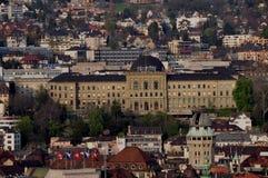 Богачи ¼ ZÃ: Швейцарское федеральное Institut Technolog стоковая фотография rf