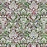 богачи предпосылки зеленые богато украшенный красные Стоковое Фото
