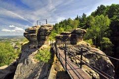 Богемский рай. стоковое изображение
