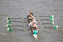 Богемцы Прага 8 - 100th гонка rowing Primatorky Стоковое фото RF