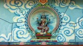 богина индусская Стоковое Изображение