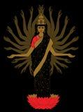 богина Стоковые Изображения RF
