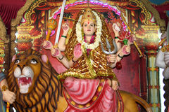 богина durga индусская Стоковая Фотография