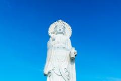 Богиня статуи сострадания и пощады стоковые фотографии rf