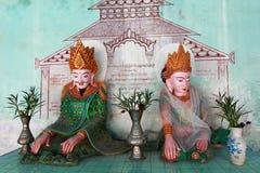Боги в bagan Мьянме Стоковое фото RF