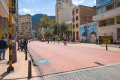 Богота Jimenez района Candelaria Ла бульвара Quezada стоковое изображение