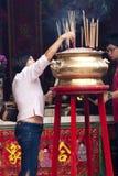 Бог виска войны в Куала Лумпур Стоковые Фото