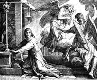 Бог вызывает Самюэль стоковые изображения