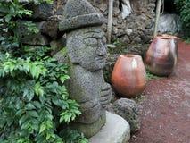 Бог земли острова Jeju Стоковые Изображения
