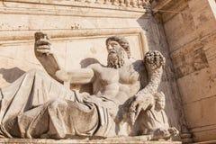 Бог Нила стоковые фото