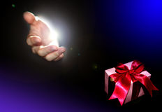 бог подарка Стоковая Фотография RF
