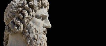 Бог древнегреческия Стоковое Изображение RF