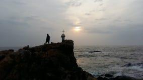 Бог & я Стоковая Фотография RF