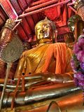 Бог Ayutthaya Будды Стоковая Фотография