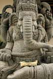 бог ganesh слона возглавил статую Стоковые Изображения