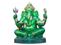 бог ganesha индусский Путь клиппирования стоковые фото