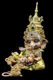 бог ganesha индусский ganesha и крысы Стоковые Фото